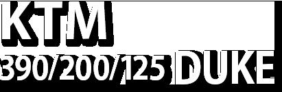 KTM 390/200/125DUKE