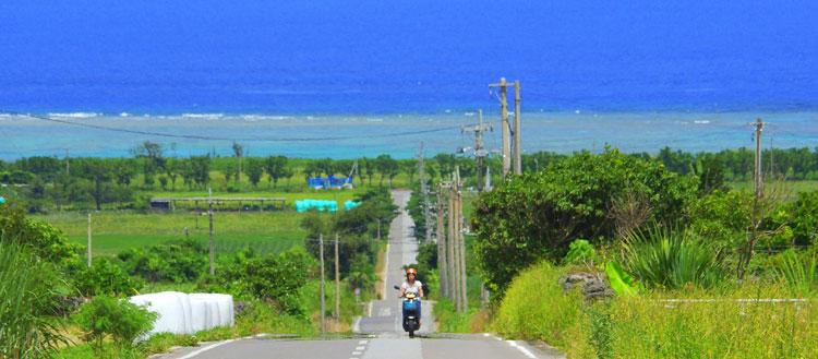 ニライカナイへ続く道 ~石垣市農道~ | バイクロード100選 | Bike ...