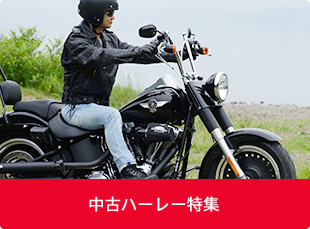 中古バイクハーレー特集